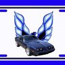 NEW 1979 Dark Blue Eagle delete Pontiac Trans AM License Plate FREE SHIPPING!