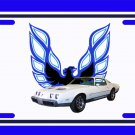 NEW 1979 White Pontiac Formula Firebird License Plate FREE SHIPPING!