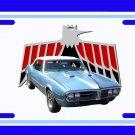 NEW 1967 Light Blue Pontiac Firebird License Plate FREE SHIPPING!