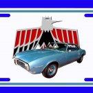 NEW 1968 Light Blue Pontiac Firebird License Plate FREE SHIPPING!