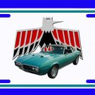 NEW 1968 Turquoise Pontiac Firebird License Plate FREE SHIPPING!