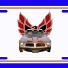 NEW 1974 Gold Pontiac Formula Firebird License Plate FREE SHIPPING!