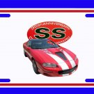 NEW 2002 35th anniversary Chevy Camaro License Plate FREE SHIPPING!