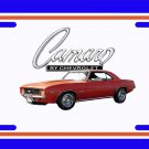 NEW 1969 Orange Chevy COPO Camaro License Plate FREE SHIPPING!