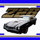 NEW 1979 Black Chevy Camaro  Z28 License Plate FREE SHIPPING!