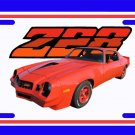 NEW 1979 Red Chevy Camaro  Z28 License Plate FREE SHIPPING!