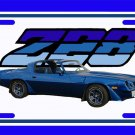 NEW 1981 Dark Blue Chevy Camaro  Z28 License Plate FREE SHIPPING!