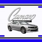 NEW 2010 Silver Chevy Camaro License Plate FREE SHIPPING!
