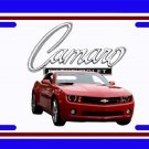 NEW 2010 Red Chevy Camaro License Plate FREE SHIPPING!