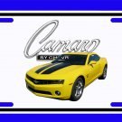 NEW 2010 Yellow Chevy Camaro License Plate FREE SHIPPING!