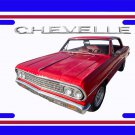 NEW 1964 Chevy Chevelle License Plate FREE SHIPPING!