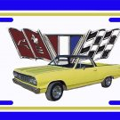 NEW Yellow 1964 Chevy El Camino License Plate FREE SHIPPING!