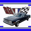 NEW 1985 Chevy El Camino License Plate FREE SHIPPING!