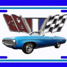 NEW 1969 Blue Chevy Impala License Plate FREE SHIPPING!