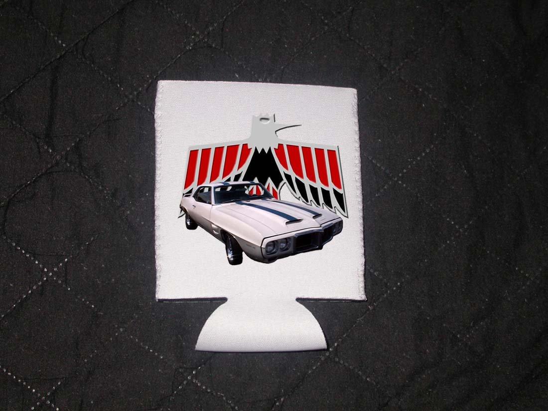 New 1969 Pontiac Firebird Trans AM Coozie (Beverage insulator)