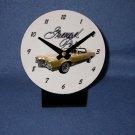 New  1970 Gold Pontiac Grand Prix desk clock!
