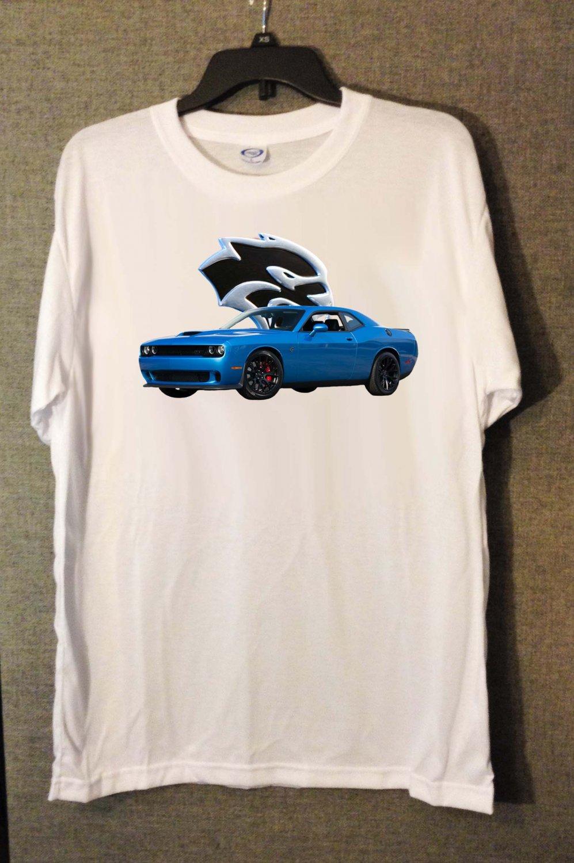 New 2017 Dodge Challenger SRT Hellcat T-shirt  (XX-Large)