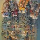 Ngo Tam-River Village 1, Fine Art AC-Arch Gloss Canvas