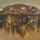 Ngo Tam-River Village 3, Fine Art WC-Photo Rag