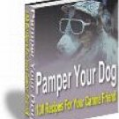 Pamper Your Dog : 130 recipes for tasty treats and meals for your canine friend New