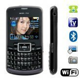Amigo - HOT NEW WiFi Quad Band Dual-SIM Cellphone with QWERTY Keyboard New