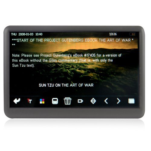 The Bomb - 8GB MP6 Player with 4.3 Inch Touchscreen LCD New