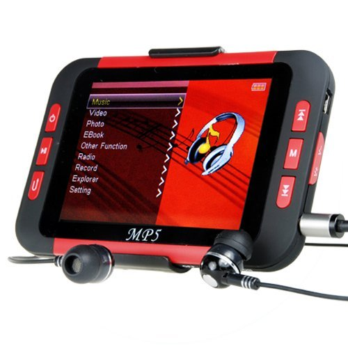 16GB MP4/MP3 Player with 3.5 Inch Display New