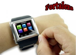 Fortaleza - Quad Band Watchphone in Stainless Steel New