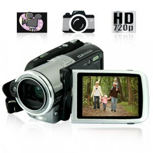 HD Camcorder - High Definition DV Camera with 5x Optical Zoom New
