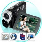 Digital Video Camcorder w/ Touchscreen (Dual SD Card Slots) New