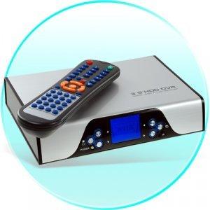 SATA HDD Media DVR Enclosure with AV Recording and Viewing New