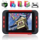 MP6 Player with 3.5 Inch LCD Screen + DVB-T Digital TV (8GB) New