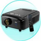 HD Multimedia LCD Projector - 120 Inch Beauty New