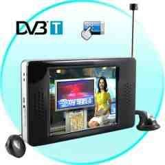 The World's Smartest Portable DVB-T Digital TV (2.8 Inch) New