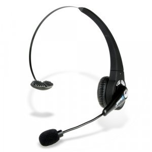 Comfortable Bluetooth Headset with High Response Boom Mic New