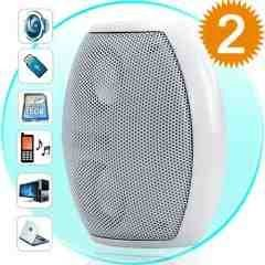 Audioblaster - Mini Speaker with MP3 Player FunctSB, SD) New