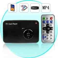 TV Card Player - 17 In 1 Memory Card Reader + USB HOST New