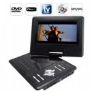 Portable Multimedia DVD Player with 7 Inch LCD Screen New