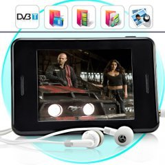 Media Mogul - MP6 Player with 3.5 Inch Touchscreen + DVB-T  New