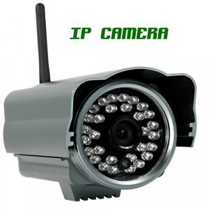 Skynet One - IP Security Camera (WIFI, DVR, Night Vision) New