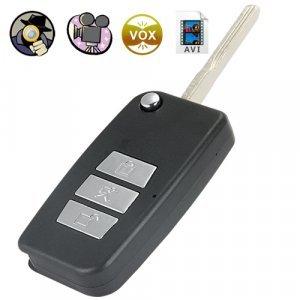 Digital Video Recorder Spy Camera (Remote Entry Flip Key Style) New