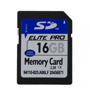 16GB SD Memory Card (Single) New