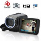 1080P HD Camcorder (10x Optical Zoom, Pre-Record, Motion Detect) New