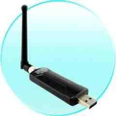 Maximum Range High Gain Wireless WIFI USB Dongle New