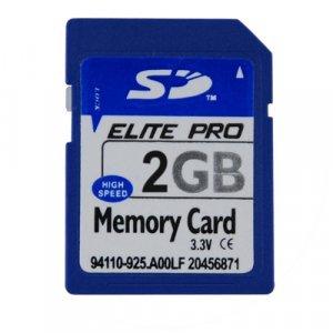2GB SD Memory Card x 5 New