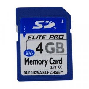 4GB SD Memory Card x 5 New