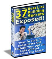 37 best List Building Secrets New