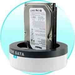 SATA HDD Docking Station - External Hard Drive Docking Station New