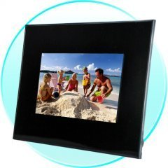 7 Inch Digital Photo Frame with Music and Video Extras New