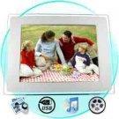 Digital Photo + Media Frame - 10.4 Inch LCD Screen New